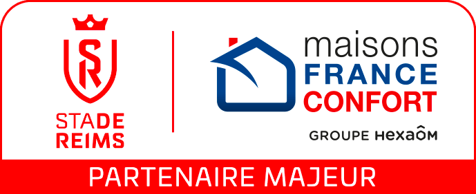 stade-de-reims football Partenaire Maison France Confort