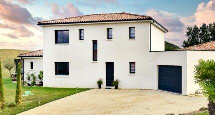Grande maison contemporaine à étage de 157m² à d'Albi (81)