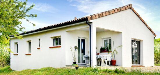 Maison de plain-pied de 90 m² près de Castelnau-d'Estrétefonds (31)