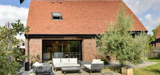 Maison en brique avec combles aménagés à la Pévèle à 15 min de Lille (59).