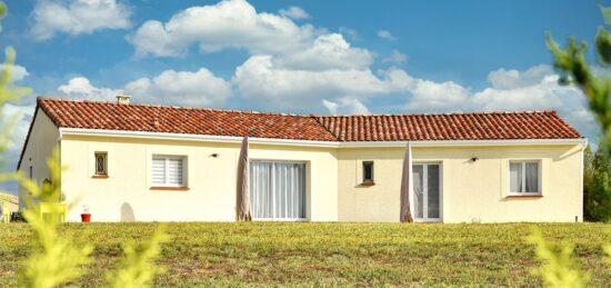 Maison neuve de plain-pied de 134 m² près de Vaissac (82).