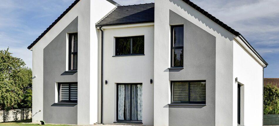 Maison contemporaine à étage de 139 m² près de Neuvillalais (72)  - maison neuve à Neuvillalais