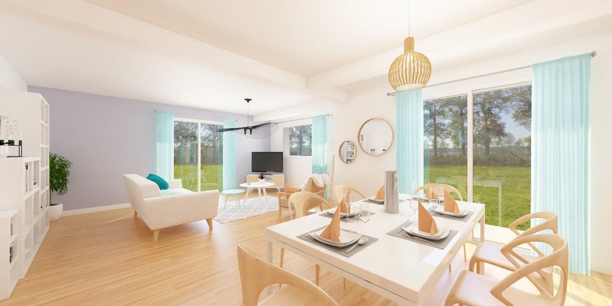 3D intérieur maison neuvillalais