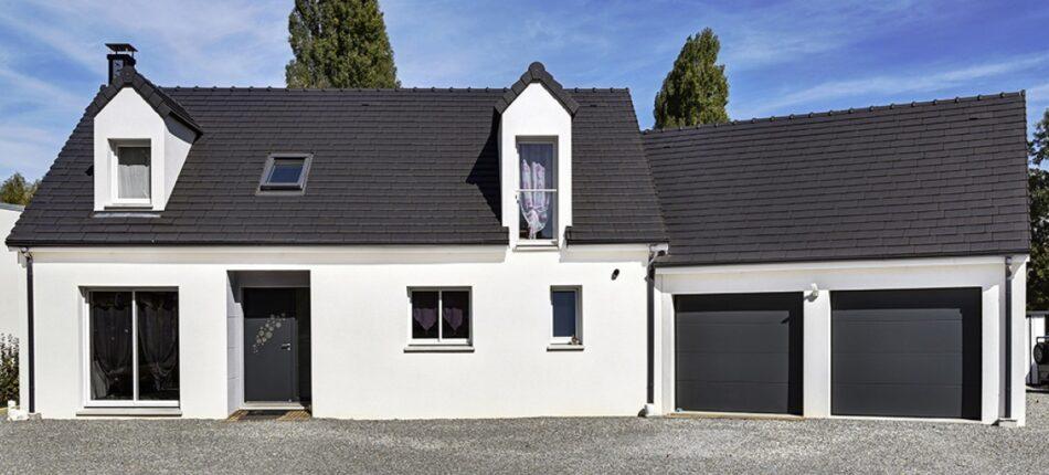 Maison familiale et contemporaine à étage de 119 m² près de Cerisé (61)  - maison neuve