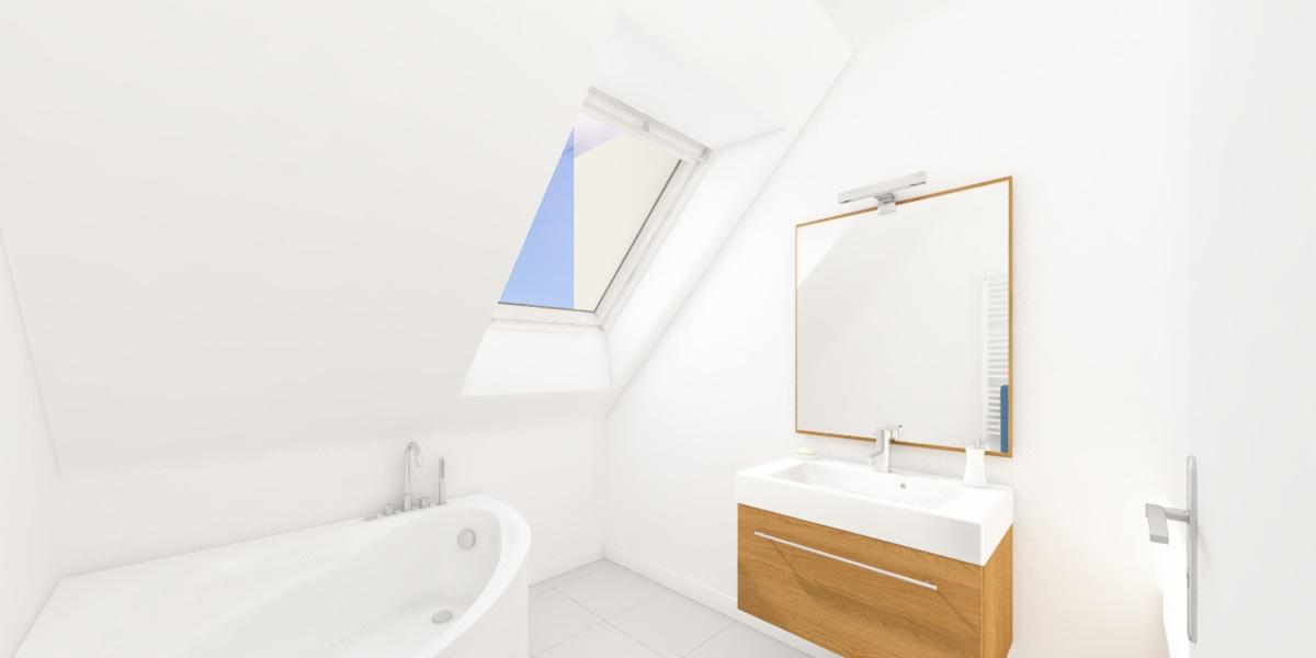 salle de bain cerise