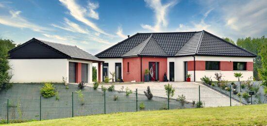 Maison de plain-pied de 150 m² à Lespesses (62).