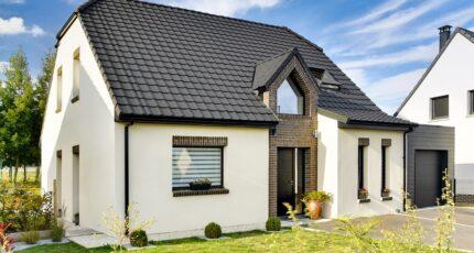 maison en briques moderne