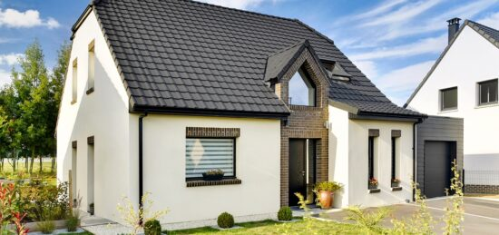 Maison en briques moderne de 126 m² à Dainville (62).