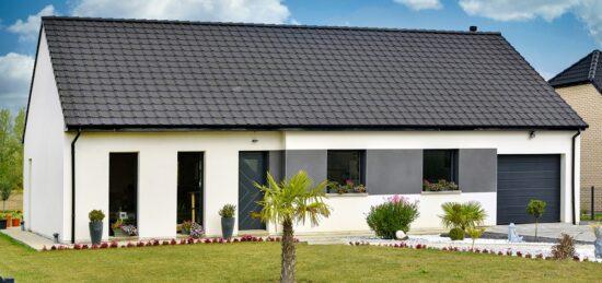 Plain-pied moderne de 100 m² à Mont-Bernanchon (62).