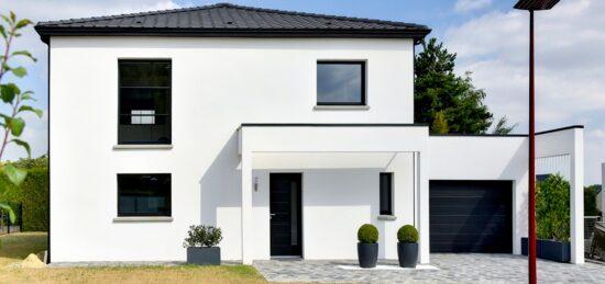 Plan de maison familiale : une réalisation de 127 m² à Fourquereuil (62).