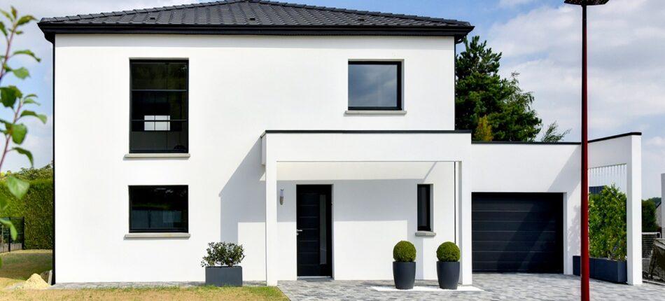 Plan de maison familiale : une réalisation de 127 m² à Fourquereuil (62).  - plan maison familiale