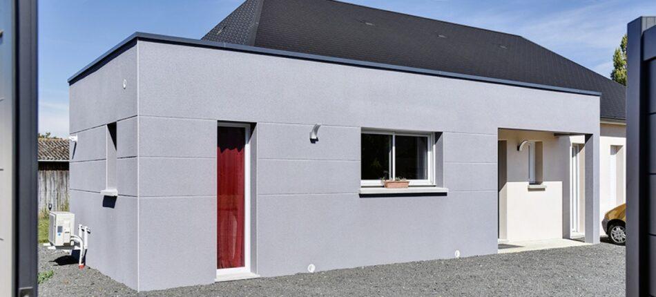 Maison contemporaine de 115 m² à Bonnétable (72) !  - plan maison plain-pied 4 chambres
