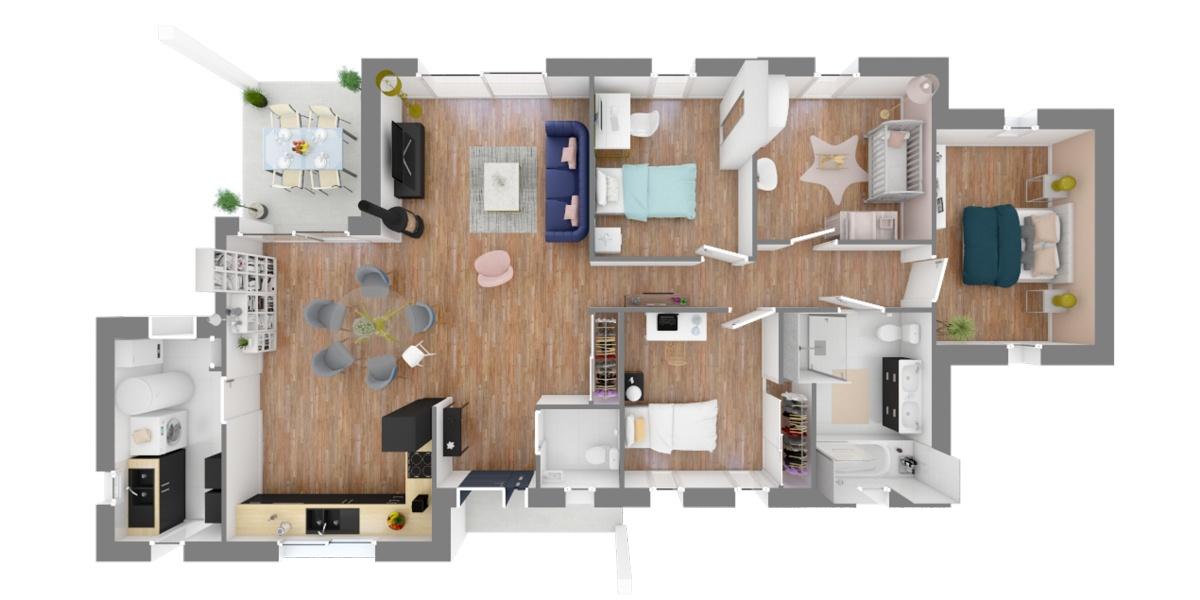 plain-pied-4-chambres